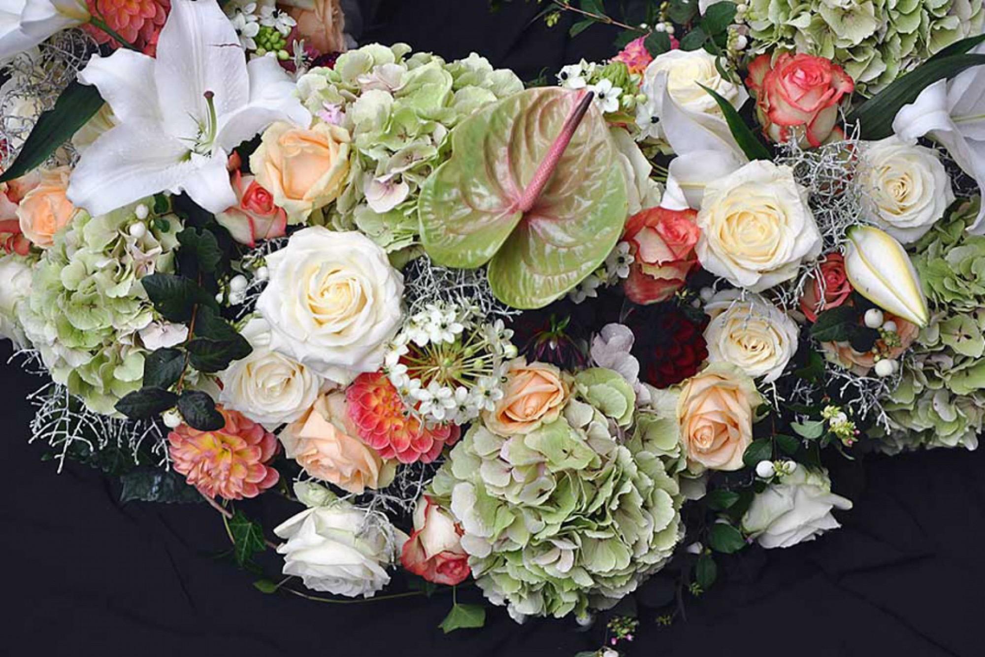 Funeral Arrangements Flowers Grave Decoration Flower Store In